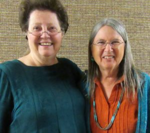 Two Kathys (Kathryn Marshall and Kathy Mayhew)
